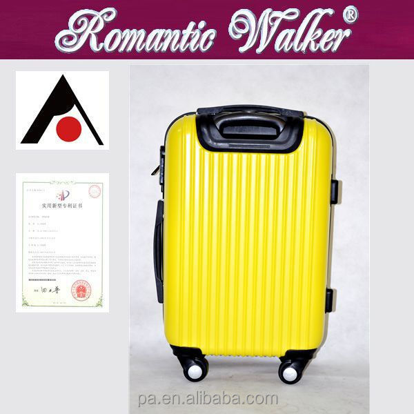 Factory wholesale 4 spinner caster <strong>ABS</strong>+PC china products suitcases