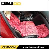 universal full set car seat covers beige nylon car