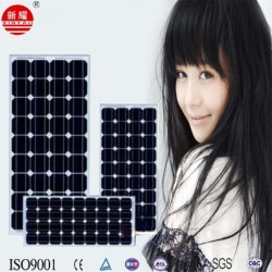 Factory Outdoors polysilicon solar panel