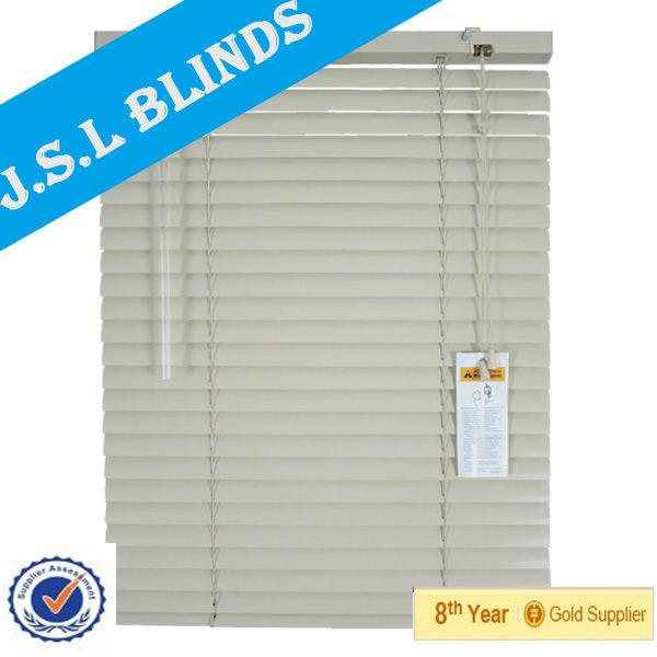 Wholesale supply 25mm slat PVC blind for window