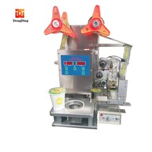 Manual bubble tea drinks cup sealer/cup sealing machine