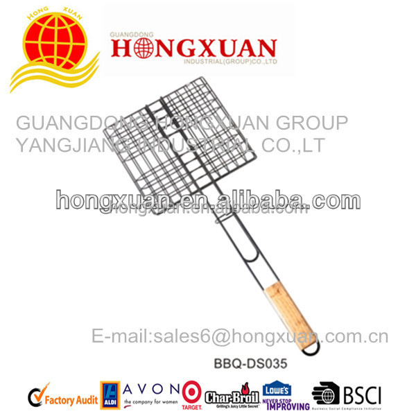 China Supplier Mesh BBQ grill roaster pan