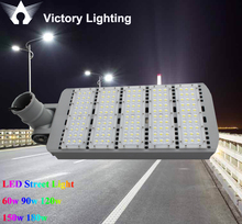 Cool white 5000-5500k led street lamp 60w 90w 120w 150w 180w