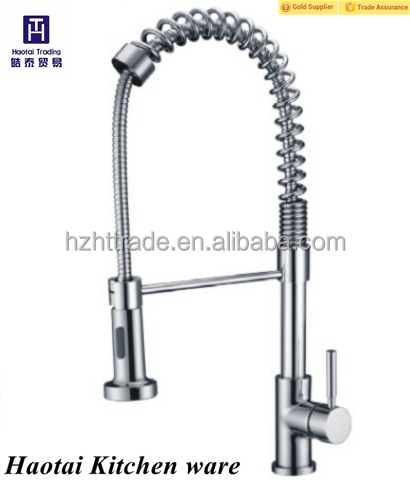 Lasteat high quality single level mixer faucet pull out kitchen tap