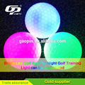 Hot selling Promotional colorful led golf ball led flashing golf ball ball