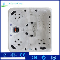 Competitive Price European Design Acrylic Balboa Massage Spa Hot Tub In Professional Factory