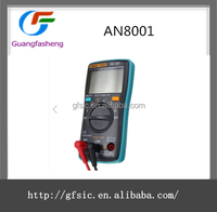 AN8001 Professional True RMS Digital Multimeter 6000 Counts Backlight AC/DC Ammeter Voltmeter Ohm Tester