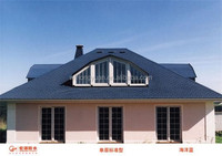 waterproof sheet material/3 tab asphalt shingle/buiding and construction