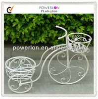 shabby chic iron bicycle decorations for home