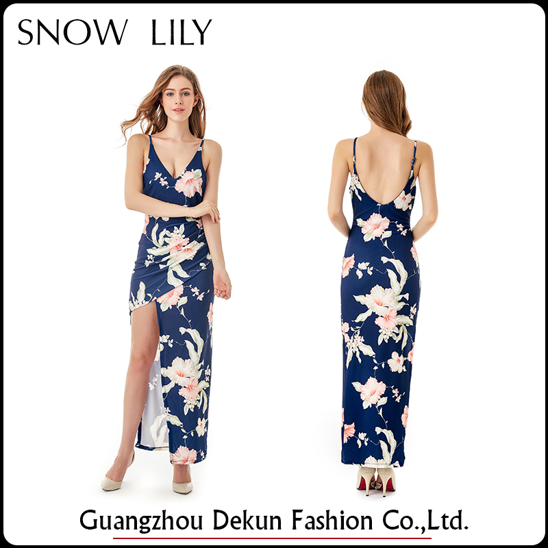 Reliable and cheap women maxi dress with good quality