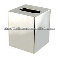 Stainless Steel Tissue Box