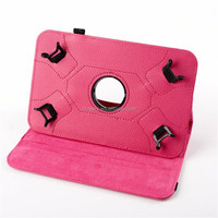 "Newest Universal 7"" inch Tablet Case 360 Degree roating Leather Case Stand Cover for 7 Inch Tab"