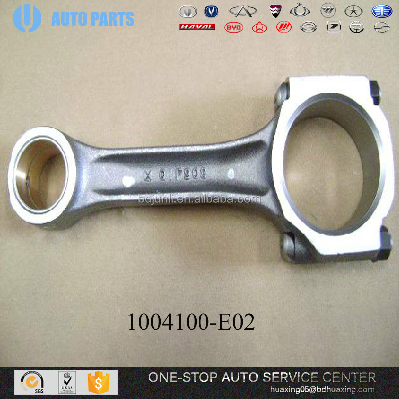 GREAT WALL SPARE PARTS 1004100-E02 CONNECTION ROD ASSY auto spare parts car car engine engine to scooter