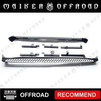 Aluminum alloy side step running board for Jeep Renegade 16+ Car Exterior Accessories