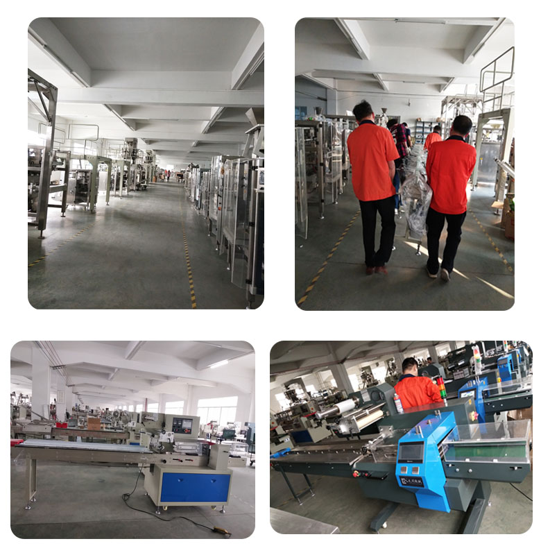 High speed potato chips snack packing machine for sale