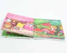 Short Story Book Printing For Kids Made In China, Custom Cardboard Cover Art Paper Perfect Binding Children English Story Books