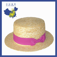 zfqueen 100% lady bucket straw hat