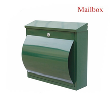 2018 New Style Green Steel Powder Coating Apartment Building Mailbox