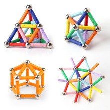 CE Plastic Magnetic Ball Rod Toys
