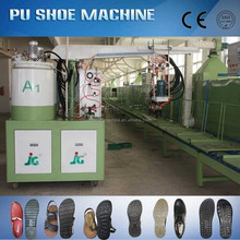 PU shoe sole injection molding machine for pu footwear