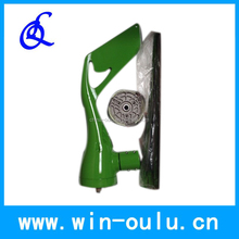 Small wind turbine generator 100w with green color , 3 blades horizontal wind