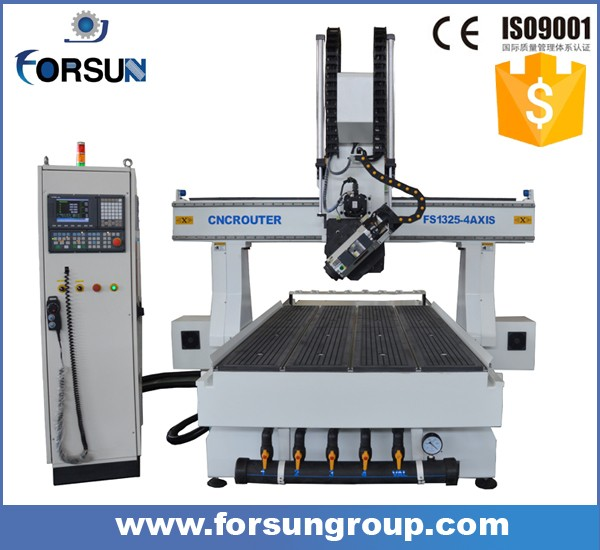 Fabulous wood milling 4 axis cnc engraving cutting machine for wooden door making carving cabinet processing for sale