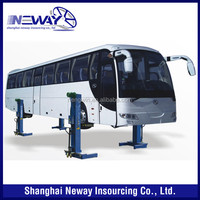 Heavy duty truck used mobile car lift