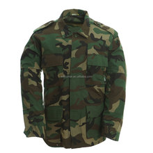 Jungle/woodland Military camouflage best selling BDU uniform