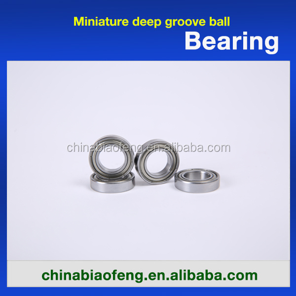 Deep Groove Ball Bearing 627ZZ/2RS,Small Electric Motor Bearings for Sale