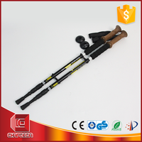 CH0732 Strict In-House QC Control 3 Section aluminum telescopic wholesale walking sticks