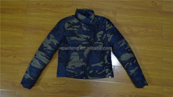 free sample women camo winter jackets retail