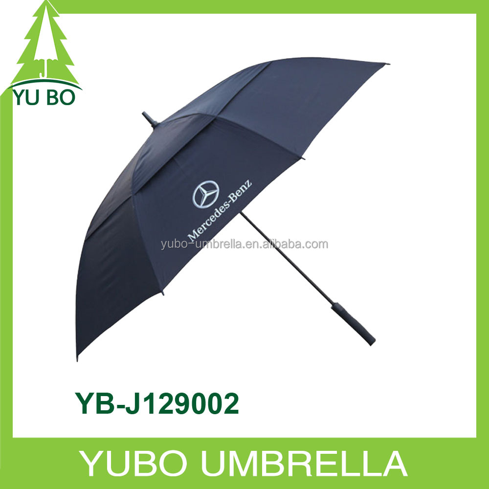 oversized air vented golf umbrella with pounch