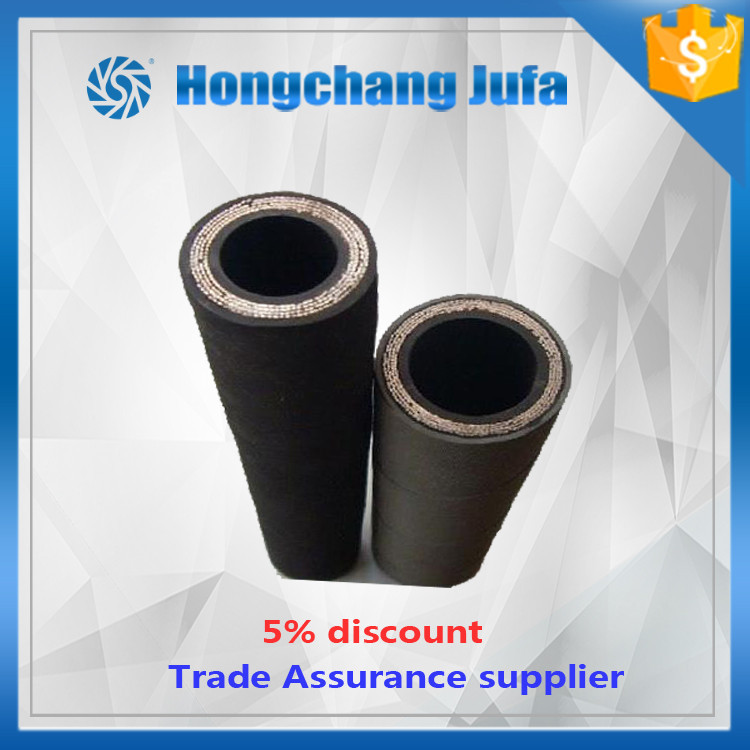 fuel oil resistant steel wire reinforced density of 6 inch pump rubber hose