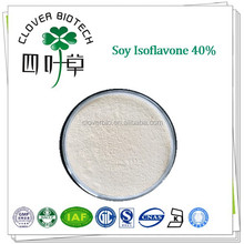 Hot sale Soy Isoflavone 40% Soybean extract soybean milk powder