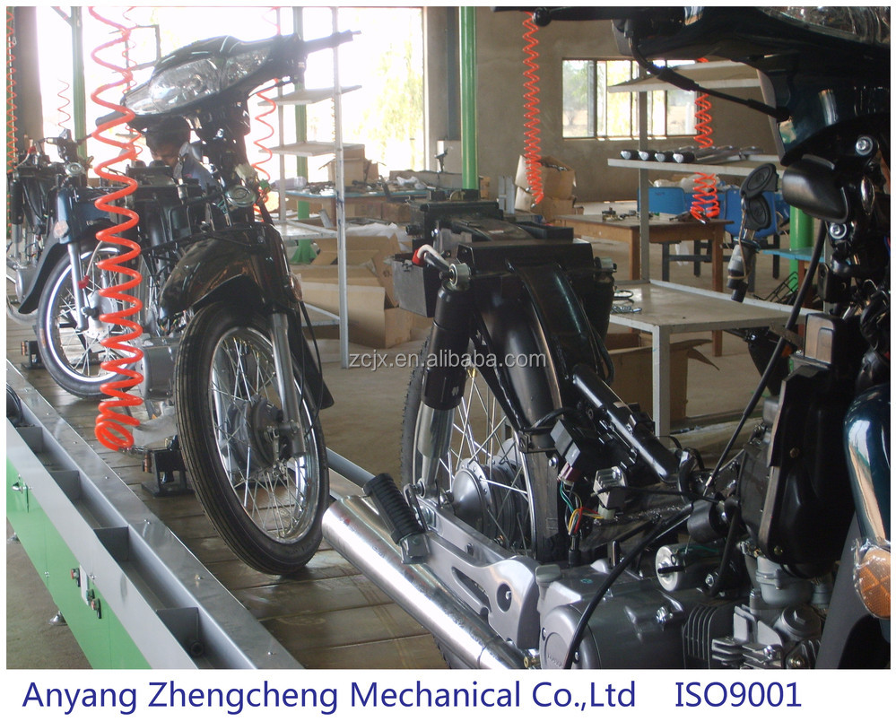 Automatic Motorcycle Assembly Line
