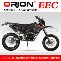 China Apollo ORION EEC Super Motard 250CC EEC On Road motorcycle Water Cooled