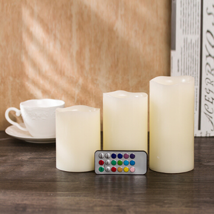 Remote control 12 Colour Changing Flameless LED Candles