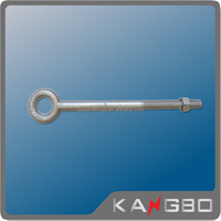 Hot-dip galvanized steel bolt with nut