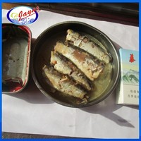 Canned Style sardines in sunflower oil