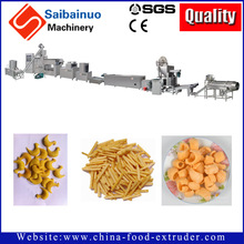 China manufacturer Automatic Stainless Steel 3D Snacks Processing Line