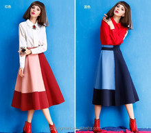 Fashion lady skirt pictures of long skirts and tops for women clothes