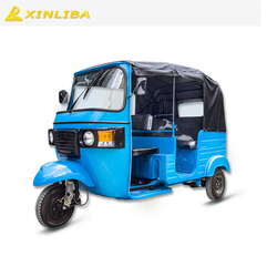 indian bajaj style passenger original tricycle taxi