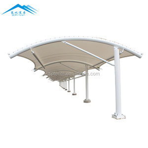 low price professional Outdoor elegent appearance tensile membrane tent