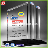 Hot sellling Clear Acrylic Plastic Trophy And Awards