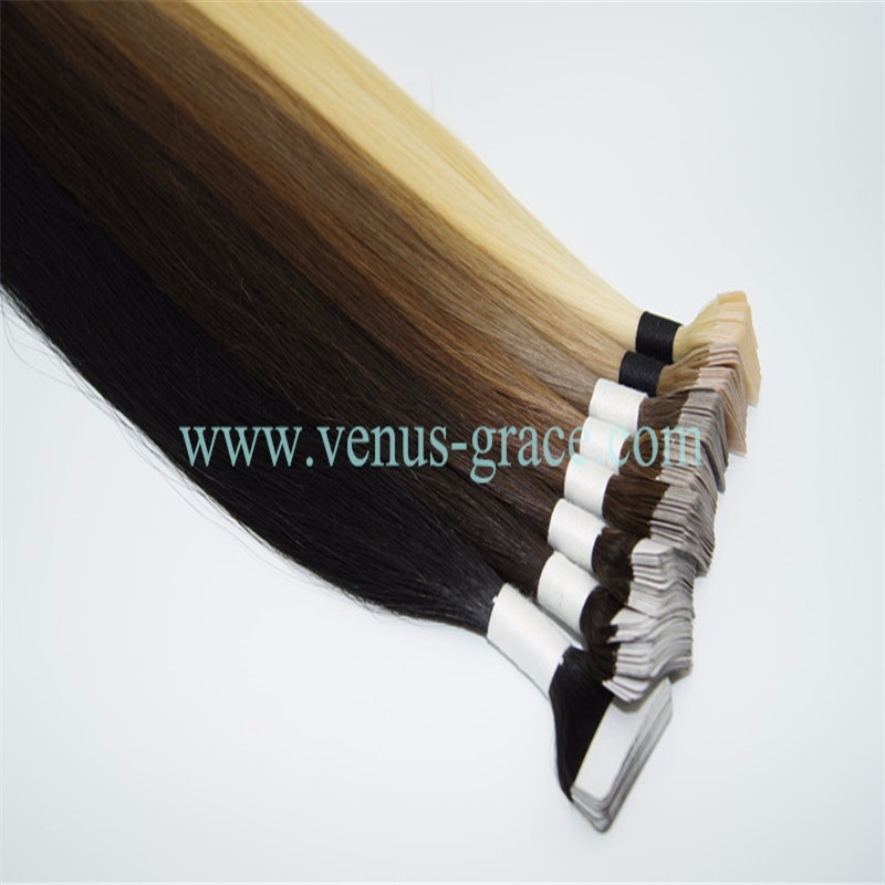 Highest Quality Tape Hair Extensions Tape in Hair Extensions 100% Real Remy Tape in Human Hair