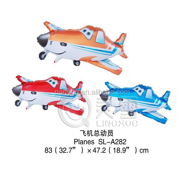 Wholesale helium inflatable toy Foil balloon helicopter 82*46cm