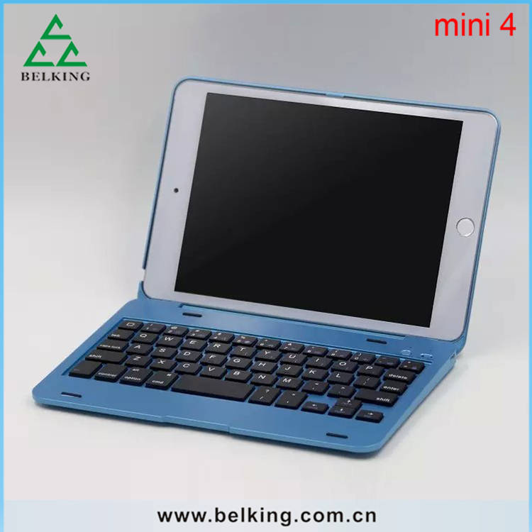 High Quality Keyboard For Apple iPad, Wireless PC Bluetooth Keyboard For iPad Mini 4