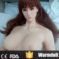 Cute European Face Silicone Big Breast Women Sexy Picture For Man Masturbation