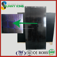China high quality and best price 100W to 320W hot sale monocrystalline solar module for home pv system