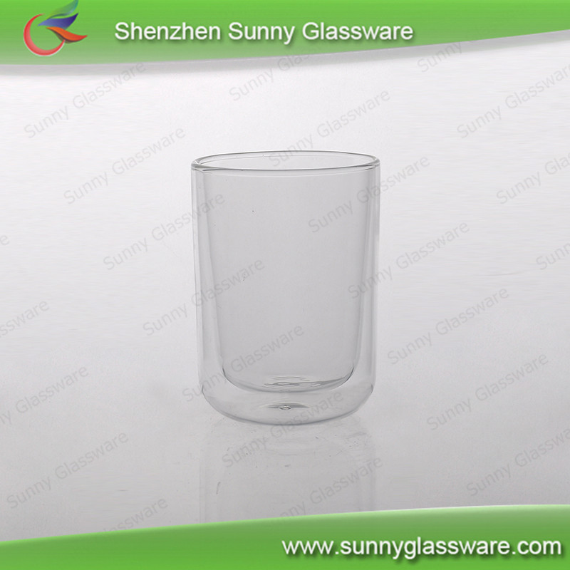 370ml pyrex glass double wall long drinks glasses